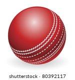 illustration of shiny red... | Shutterstock .eps vector #80392117