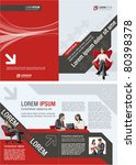 red and black template for...   Shutterstock .eps vector #80398378