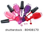 image of bright colored nail...   Shutterstock . vector #80408170