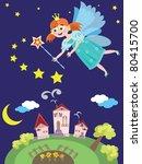fairy or princess | Shutterstock .eps vector #80415700