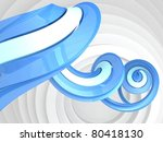 abstract swirl background | Shutterstock . vector #80418130