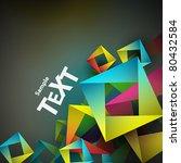 abstract vector background. | Shutterstock .eps vector #80432584