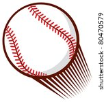 baseball ball | Shutterstock .eps vector #80470579