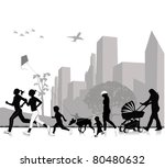 outdoor recreation | Shutterstock .eps vector #80480632