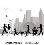 outdoor recreation | Shutterstock .eps vector #80480632