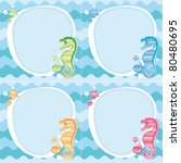 Backgrounds Of Seahorses