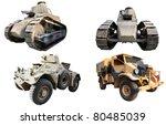 Various Vintage Military...
