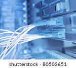 fiber network server | Shutterstock . vector #80503651