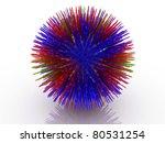 3d viru   Shutterstock . vector #80531254