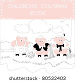Three Little Pigs Coloring Book