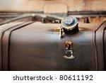 Old Iron Truck Fuel Tank