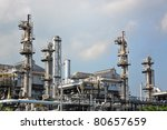gas processing factory | Shutterstock . vector #80657659