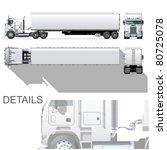 vector hi detailed commercial... | Shutterstock .eps vector #80725078