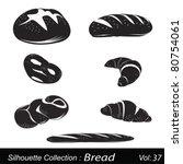 vector illustration  bread | Shutterstock .eps vector #80754061