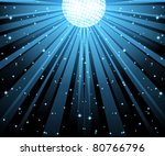 vector illustration of blue... | Shutterstock .eps vector #80766796