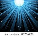 vector illustration of blue...   Shutterstock .eps vector #80766796