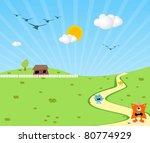 animals | Shutterstock .eps vector #80774929