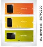 abstract modern website... | Shutterstock .eps vector #80792320