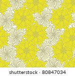 Seamless Yellow Background Of...