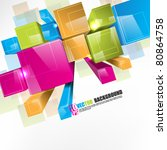 Eps10 Vector 3d Colorful Boxes...