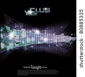 disco   club invitation...   Shutterstock .eps vector #80885335