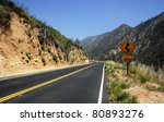 Curves On The Angeles Crest...
