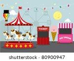 fun fair | Shutterstock .eps vector #80900947