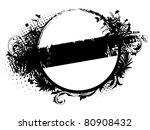 grunge banner template | Shutterstock .eps vector #80908432