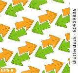 arrows pattern sketch vector... | Shutterstock .eps vector #80939836