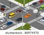intersection | Shutterstock .eps vector #80974570