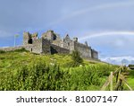 rock of cashel  tipperary ... | Shutterstock . vector #81007147