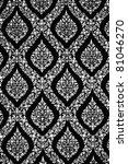 Thai pattern - stock vector