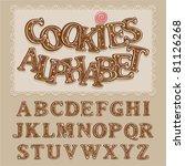 Vector Sweet Alphabet