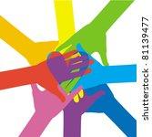 together | Shutterstock .eps vector #81139477