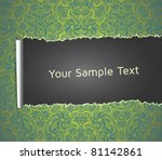 vector abstract background with ... | Shutterstock .eps vector #81142861