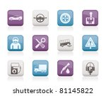 car services and transportation ... | Shutterstock .eps vector #81145822