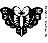butterfly | Shutterstock .eps vector #8115658