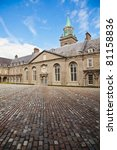 Stock photo view of the interior courtyard at irish museum of modern art dublin ireland the building was the 81158836