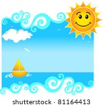 summer background | Shutterstock .eps vector #81164413