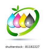recycling inkjet | Shutterstock .eps vector #81182227
