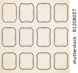 set of labels | Shutterstock .eps vector #81208057