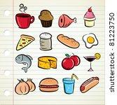 Set Of Food Icon