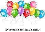 Happy Birthday Balloons  ...