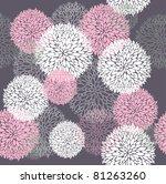 vector flower pattern. ...