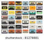 A Large Collection Of Retro...