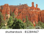 bryce canyon national park... | Shutterstock . vector #81284467