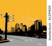 modern grunge urban graphic... | Shutterstock .eps vector #81299839