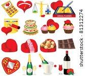 love icons   part 2 | Shutterstock .eps vector #81312274