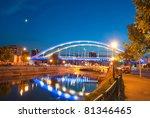 basarab bridge in the night ... | Shutterstock . vector #81346465