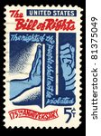 usa   circa 1966   a stamp... | Shutterstock . vector #81375049